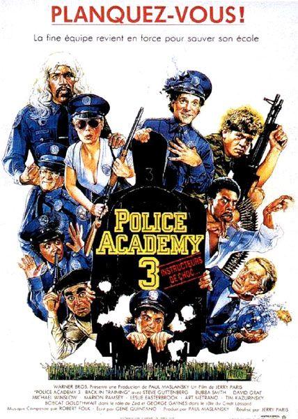 Police Academy 3: Instructeurs de choc affiche