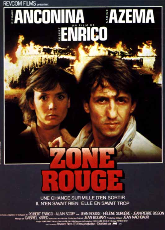 Zone rouge affiche